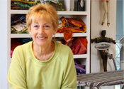 Home Middle 2 – Judy in studio